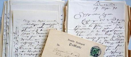 Das große Glück des Briefeschreibens