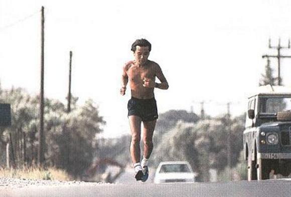 Der Marathonläufer