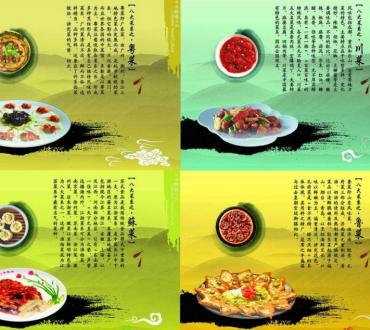 中国四大菜系     Las principales cocinas regionales de China