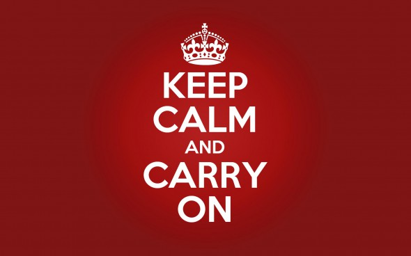 "SUBASTAN UN PÓSTER ORIGINAL DE LA CONOCIDA FRASE ""KEEP CALM AND CARRY ON"""