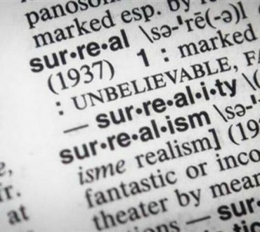 """SURREALISTA"" RESULTA SER LA PALABRA DE ESTE AÑO 2016 PARA MERRIAM WEBSTER"