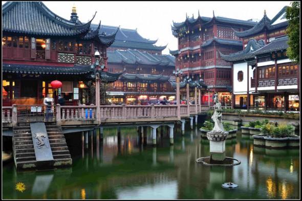 上海老城隍庙 / Templo ciudad de Dios