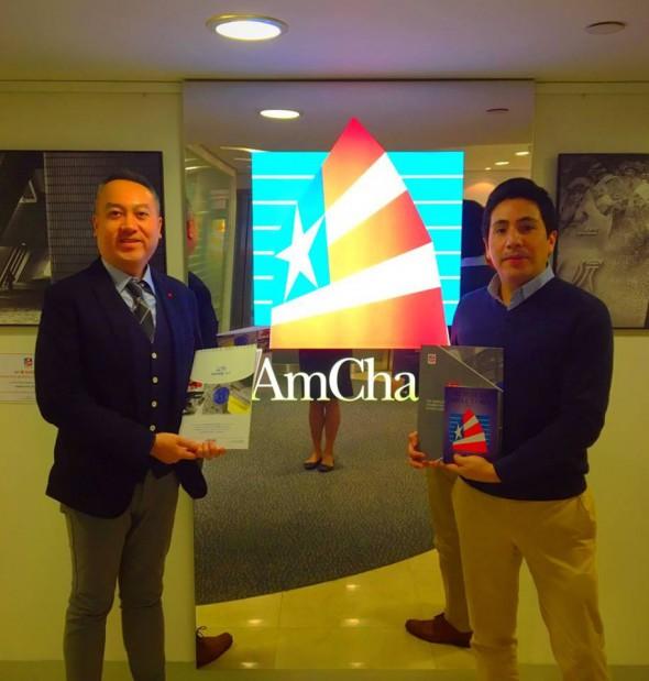 Norak AsiaPacific meets Director Michael Tsang AmCham