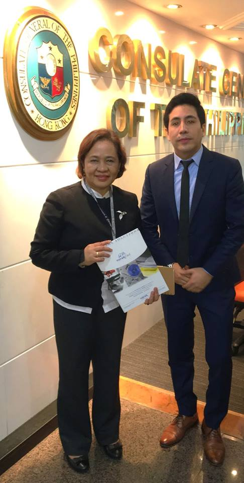 Norak Asia Pacific meets Consul of Philipines in Hong Kong