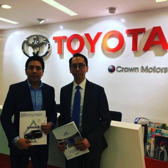 Norak Asia Pacific meets Toyota in Hong Hong
