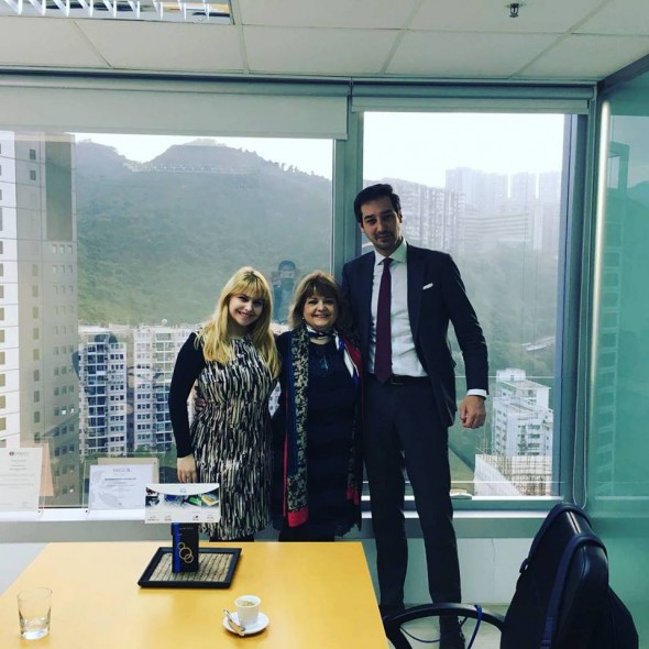 Noraktrad and Norak Asia Pacific meets Alvaro de Luis of Net Craman in Hong Kong
