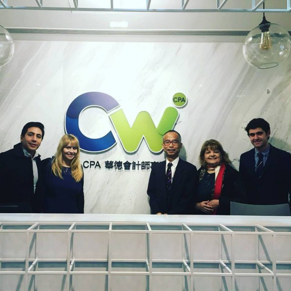 Meeting with our partner CW CPA in Hong Kong