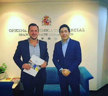 Norak Asia Pacific meets IXEX Chief Trade Officer in Hong Kong
