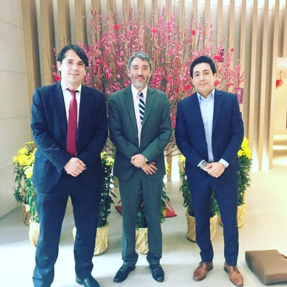 Norak Asia Pacific meets Consul of Peru and Secretary General of Spanish Chamber of Commerce