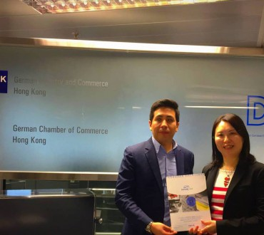 NorakAsiaPacific meets German Chamber of Commerce in HongKong