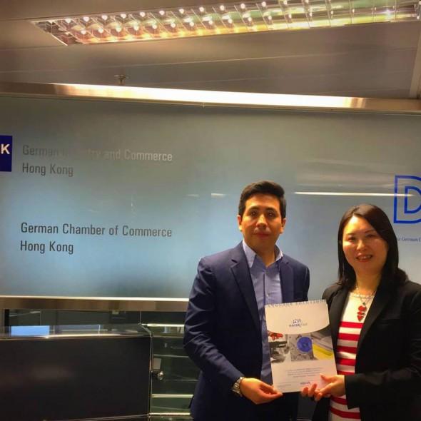 NorakAsiaPacific meets German Chamber of Commerce in HongKong
