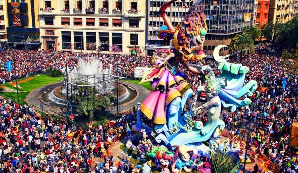 Karneval und die Fallas
