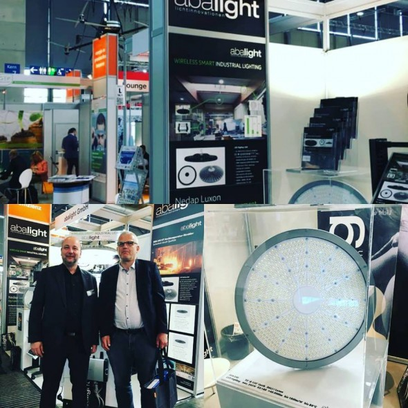 Norak Frankfurt meets Uwe Berg Fa. Abalight at  HANNOVER MESSE.
