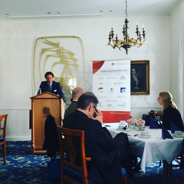Norak meets China Forum Breakfast Club in Munich