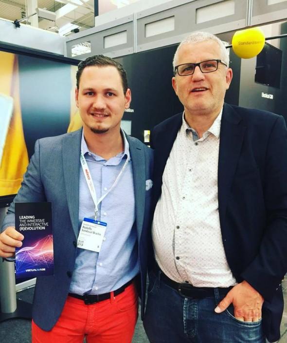 Norak Frankfurt meets Virtualware  at HANNOVER MESSE