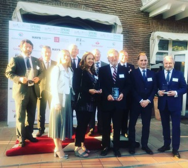 Spring Cocktail 31st May 2018   British Ambassador's Residence in Madrid     Oldest members awards