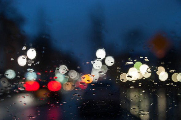 Safe driving in rainy conditions