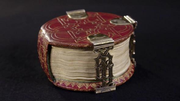 """Codex Rotundus, un libro """"extraño"""" con una forma única para los historiadores"""